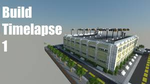 minecraft building timelapse 6 parking garage youtube
