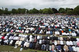 Celebration In Uk Muslims Gather In Birmingham For Eid To The End Of Ramadan