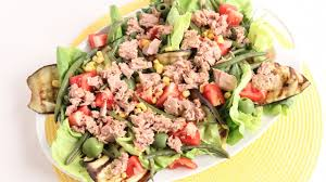 Tuna Salad Mediterranean Style Italian Tuna Salad Recipe Laura Vitale Laura In The Kitchen