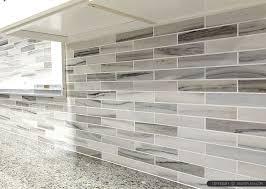 gray kitchen backsplash gray white some brown tones modern subway kitchen backsplash tile