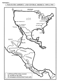 Black And White Map Of Central America by Inspiration Iskcon Padayatraiskcon Padayatra