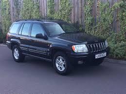 jeep car black 51 plate jeep grand cherokee 4 0 ltd auto black low mileage 2 keys