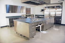 hand made stainless steel kitchen by mica shop custommade com