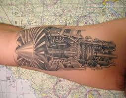 tattoo on pinterest airplane tattoos plane tattoo and shadow