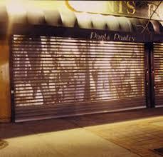 Overhead Security Door Storefront Door Security Roll Up Door Overhead Rolling Doors