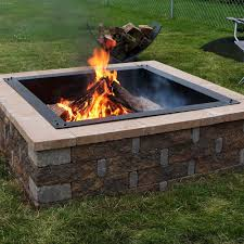 Fire Pit Liner by Outdoor Wood Fire Pits