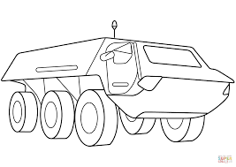 armored security vehicle coloring page free printable coloring pages