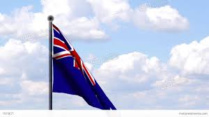 Flag New Zealand Animated Flag Of New Zealand Neuseeland Stock Animation 1915671