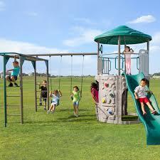 Metal Playsets Lifetime Adventure Tower Deluxe Playset Backyard Outdoor Spaces