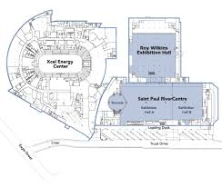 floor plans saint paul rivercentre