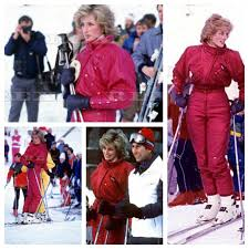 Prince Charles Princess Diana 24 January 1985 Prince Charles U0026 Princess Diana On A Ski Holiday