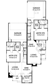 duplex floor plans for narrow lots smart design 8 duplex house plans narrow lots j2030d floor plan