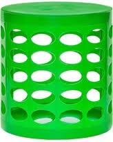 amazing deal on gitadini storage ottoman green