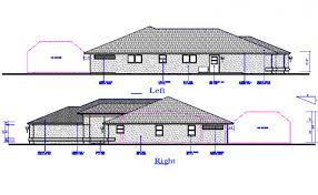 side elevation right side elevation detail