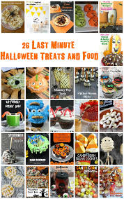 26 last minute halloween treats and recipes and block party rae