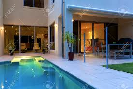 interior fascinating modern house pool swimming trendy interior