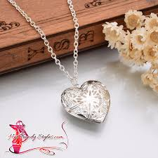 trendy necklace styles images Beautiful love charm heart necklace hot trendy styles png