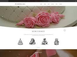 wedding cake websites 75 best html wedding website templates of 2017