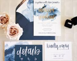 watercolor wedding invitations watercolor wedding invitation etsy