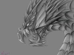 puzzle and dragons vritra grayscale by magicallycapricious on