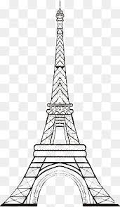 cartoon eiffel tower cartoon eiffel tower flowers png image for