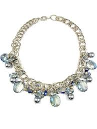 blue crystal statement necklace images Crystal bead necklace glass beads synthetic pearls martinuzzi jpg