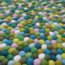 Wool Felt Rugs Felt Ball Rugs Free Shipping Within Australia Milk Tooth