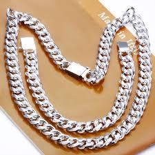 silver necklace bracelet set images Wholesale jewelry set 925 sterling silver jewelry 925 silver men 1 jpg
