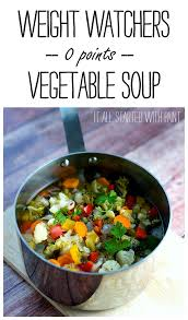 weight watchers recipe for soup weight watcher recipes soups