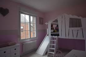chambre enfant toboggan lit nuage avec toboggan