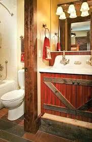 barn style bathroominspiring rustic bathroom ideas for cozy home