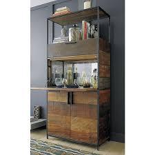 clive bar cabinet crates barrels and bar