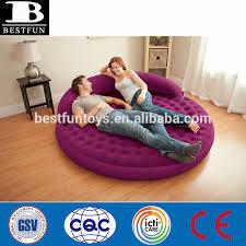 canapé lit gonflable plein air mobilier gonflable floqué gonflable air rond canapé