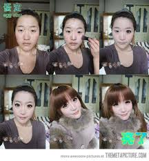 funny make up transformation anese amazing asian