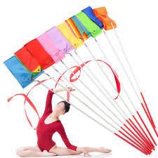 ribbon streamers ribbon baton twirling kids streamers gymnastic rhythmic