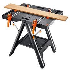 pegasus folding work table u0026 sawhorse wx051 worx