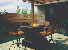 Patio Furniture Sets With Fire Pit by Artistic Design Nyc Fireplaces And Outdoor Kitchens Outdoor