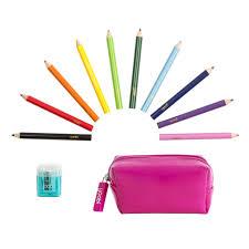 mini coloring emergency kit pink yoobi