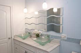 glow in the dark glass tile bathroom