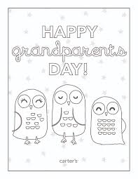fine decoration grandparents day coloring pages happy owl sheet grandparentsday jpg