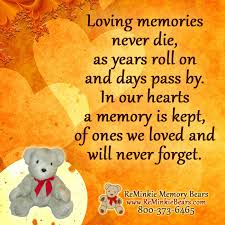 remembrance teddy bears memorial and remembrance quotes featuring our memory bears