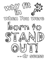 printable page of quotes displaying seuss coloring page 3 jpg quote coloring pages