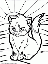 coloring pages cat pictures to color color page butterfly color