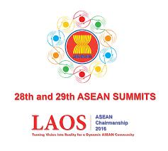 28th 29th asean summits vientiane 6 8 september 2016 asean