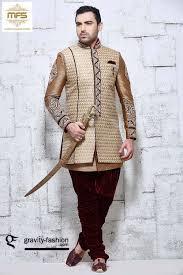 buy indo western suits for men online germany copper shervani