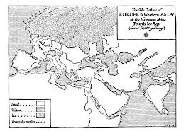 Blank Map Of Europe 1914 Printable by 8 1 The World 50 000 Years Ago U2014 The Outline Of History By H G Wells