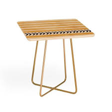Yellow Side Table Side Tables Deny Designs