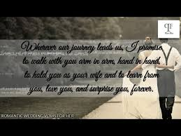 Romantic Marriage Quotes Best Romantic Wedding Vows For Her That Will Make You Cry Best
