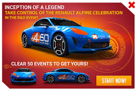 renault alpine research u0026 development renault alpine celebration asphalt wiki
