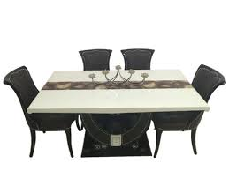 Dining Table India Six Seater Marble Dining Sets Tower 1 6 Marble Dining Set